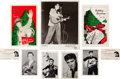 Music Memorabilia:Memorabilia, Elvis Presley Fan Club Memorabilia (1956-58).... (Total: 9 Items)