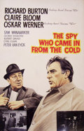 Mainstream Illustration, JOHN J. LOMASNEY (Irish, 1899-1989). The Spy Who Came in fromthe Cold, 1965. Gouache on artboard. 44 x 28 in.. ...