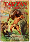 Books:Science Fiction & Fantasy, Edgar Rice Burroughs. Tarzan at the Earth's Core. New York: Grosset & Dunlap, [1930]. Reprint. Publisher's cloth and...