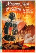 Books:Science Fiction & Fantasy, Philip Latham. Missing Men of Saturn. Philadelphia Toronto: John C. Winston, [1953]. First edition. Jacket rubbed an...