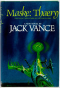 Books:Science Fiction & Fantasy, Jack Vance. SIGNED. Maske: Thaery. Berkley Publishing, [1976]. First edition. Signed by the author on the title pa...