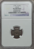 Early Half Dimes: , 1795 H10C -- Damaged -- NGC Details. AG. LM-8. NGC Census: (0/355).PCGS Population (7/545). Mintage: 78,600. Numismedia W...