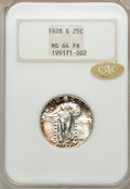 1928-S 25C MS64 Full Head NGC. Gold CAC. NGC Census: (70/280). PCGS Population (108/243). Mintage: 2,644,000. Numismedia...