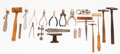 Timepieces:Other , A Lot Of 23 Miscellaneous Watch Maker Tools. ... (Total: 23 Items)