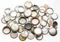 Timepieces:Other , A Lot Of Forty Plus Salesman Sample & Regular Watch Cases. ...(Total: 40 Items)