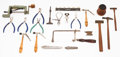 Timepieces:Other , A Lot Of Twenty One Miscellaneous Watch Makers Tools. ... (Total:21 Items)