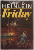 Books:Science Fiction & Fantasy, Robert A. Heinlein. Friday. New York: Holt, Rinehart and Winston, [1982]. First edition, first printing. Octavo. 368...