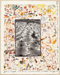 Photographs:20th Century, PETER BEARD (American, b. 1938). Zebra Carpet & Ol Morani,Lariak Estate, Kenya, August 1960 , . Iris print onhand-made...