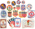 Miscellaneous Collectibles:General, 1952-1970's Summer and Winter Olympics Decals and Patches Lot of30....