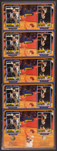 Basketball Collectibles:Photos, Bill Walton and John Wooden Multi Signed Displays Lot of 5. ...
