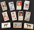 Olympic Cards:General, Vintage American & British Sports Sets Collection (11) - HorseRacing, Cricket, Soccer Sets. ...