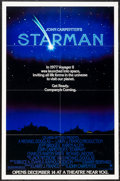 "Movie Posters:Science Fiction, Starman & Other Lot (Columbia, 1984). One Sheets (2) (27"" X 41"") Advance & Regular. Science Fiction.. ... (Total: 2 Items)"