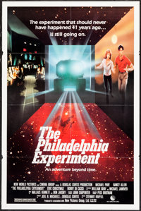"""The Philadelphia Experiment & Others Lot (New World, 1984). One Sheets (3) (27"""" X 40"""" & 27"""" X 41&..."""