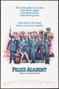"Police Academy & Others Lot (Warner Brothers, 1984). One Sheets (3) (27"" X 41""). Comedy. ... (Total: 3 Ite..."