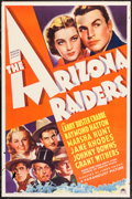 "Movie Posters:Western, The Arizona Raiders (Paramount, 1936). One Sheet (27"" X 41""). Western.. ..."