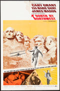 """Movie Posters:Hitchcock, North by Northwest (MGM, R-1966). One Sheet (27"""" X 41"""").Hitchcock.. ..."""