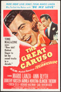 "Movie Posters:Musical, The Great Caruso (MGM, 1951). One Sheet (27"" X 41""). Musical.. ..."