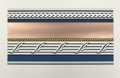 Prints:Contemporary, ROY LICHTENSTEIN (American, 1923-1997). Entablature IV (fromthe Entablature series), 1976. Screenprint in colors wi...