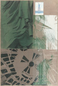 Prints:Contemporary, ROBERT RAUSCHENBERG (American, 1925-2008). Statue of Liberty(from the New York, New York portfolio), 1983. Screenpr...