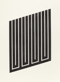 Prints:Contemporary, DONALD JUDD (American, 1928-1994). Untitled, 1978/1979.Aquatint on paper. 35-1/4 x 24-3/4 inches (89.4 x 63.0 cm) sight...
