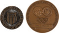 Miscellaneous Collectibles:General, 1968 and 1972 Summer Olympics Contributors Medals Lot of 2....