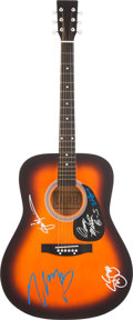 Music Memorabilia:Autographs and Signed Items, Buffalo Springfield Band-Signed Guitar....