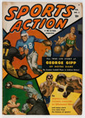 Golden Age (1938-1955):Non-Fiction, Sports Action #2 (Atlas, 1950) Condition: VG....