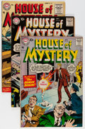 Golden Age (1938-1955):Horror, House of Mystery Group (DC, 1954-59) Condition: Average FN/VF....(Total: 8 Comic Books)