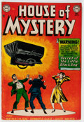 Golden Age (1938-1955):Horror, House of Mystery #9 (DC, 1952) Condition: FN....