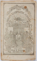Books:Americana & American History, [Almanac]. The People's Illustrated Almanac, 1849. New York:Clapp & Townsend, 1849. Publisher's wrappers. Foxing th...