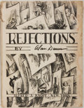 Books:Art & Architecture, Alan Dunn. Rejections. New York: Knopf, 1931. First edition. Large quarto. Fully illustrated. Publisher's binding in...