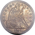 Seated Dollars, 1841 $1 MS63 PCGS....
