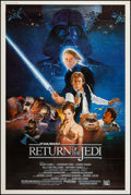 """Movie Posters:Science Fiction, Return of the Jedi (20th Century Fox, 1983). Poster (40"""" X 60"""")Style B. Science Fiction.. ..."""