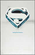 """Movie Posters:Action, Superman the Movie (Warner Brothers, 1978). Mylar One Sheet (27"""" X41"""") Advance. Action.. ..."""