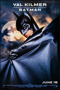 """Batman Forever (Warner Brothers, 1995). One Sheets (7) (27"""" X 40"""") DS Advance, Regular, & 5 Character Styl..."""