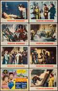 "Movie Posters:Adventure, Quentin Durward (MGM, 1955). Lobby Card Set of 8 (11"" X 14"").Adventure.. ... (Total: 8 Items)"