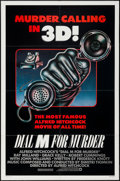 """Movie Posters:Hitchcock, Dial M for Murder (Warner Brothers, R-1982). One Sheet (27"""" X 41"""") 3-D Style. Hitchcock.. ..."""