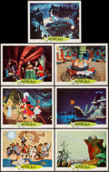 """Movie Posters:Animation, Peter Pan (Buena Vista, R-1969 & R-1976). Lobby Cards (7) (11"""" X 14"""") & Photos (3) (8"""" X 10""""). Animation.. ... (Total: 10 Items)"""