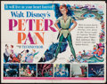 "Movie Posters:Animation, Peter Pan (RKO, 1953). Half Sheet (22"" X 28""). Animation.. ..."