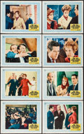 """Movie Posters:Hitchcock, Torn Curtain (Universal, 1966). Lobby Card Set of 8 (11"""" X 14"""").Hitchcock.. ... (Total: 8 Items)"""
