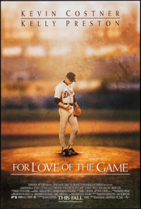 "For Love of the Game & Other Lot (Universal, 1999). One Sheets (2) (27"" X 40"") DS Advance. Sports..."