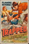 "Movie Posters:Action, Trapped (Columbia, 1937). One Sheet (27"" X 41""). Action.. ..."