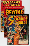 Golden Age (1938-1955):Science Fiction, Golden Age Sci-Fi Group (Various Publishers, 1950s) Condition:Average GD+.... (Total: 5 Comic Books)