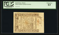 Colonial Notes:Rhode Island, Rhode Island May 1786 6d PCGS Choice New 63.. ...