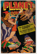 Golden Age (1938-1955):Science Fiction, Planet Comics #45 (Fiction House, 1946) Condition: FN-....