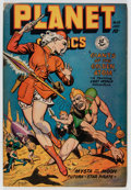 Golden Age (1938-1955):Science Fiction, Planet Comics #55 (Fiction House, 1948) Condition: GD/VG....