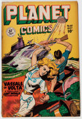 Golden Age (1938-1955):Science Fiction, Planet Comics #60 (Fiction House, 1949) Condition: GD+....