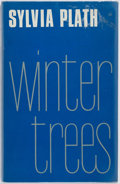 Books:Literature 1900-up, Sylvia Plath. Winter Trees. London: Faber and Faber, [1971].First edition, first printing. Publisher's cloth and du...
