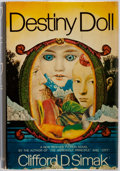 Books:Science Fiction & Fantasy, Clifford D. Simak. Destiny Doll. New York: G.P. Putnam's, [1971]. First edition. Publisher's cloth and dust jacket. ...