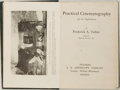 Books:Photography, Frederick A. Talbot. Practical Cinematography and Its Applications. Philadelphia: J.B. Lippincott, 1913. First editi...